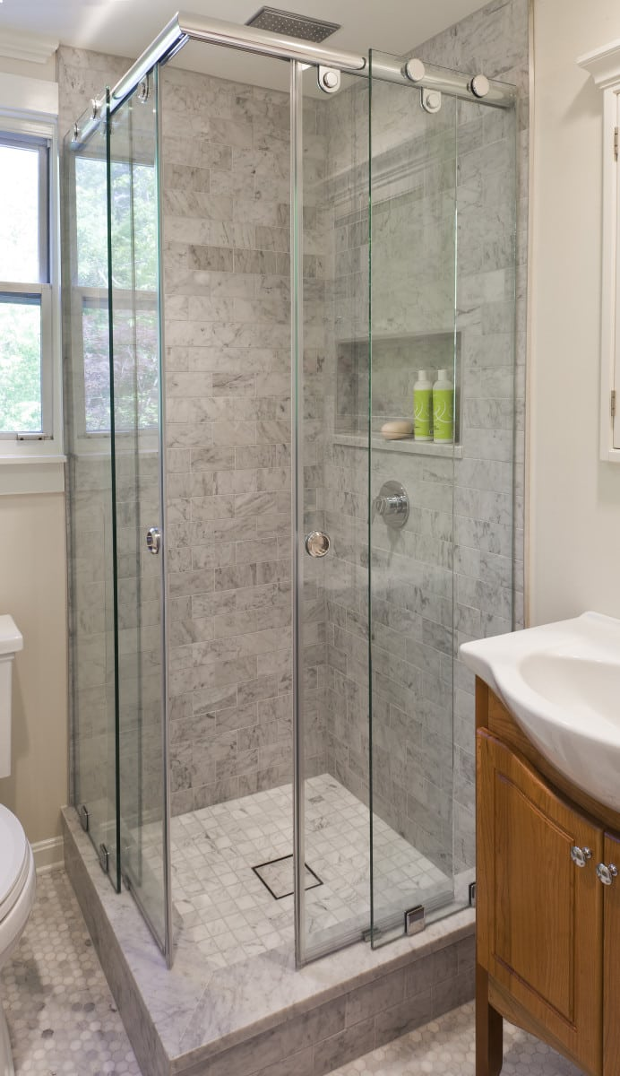 Small Bathroom Remodel In Howard County