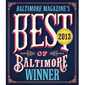 Best of Baltimore Winner badge