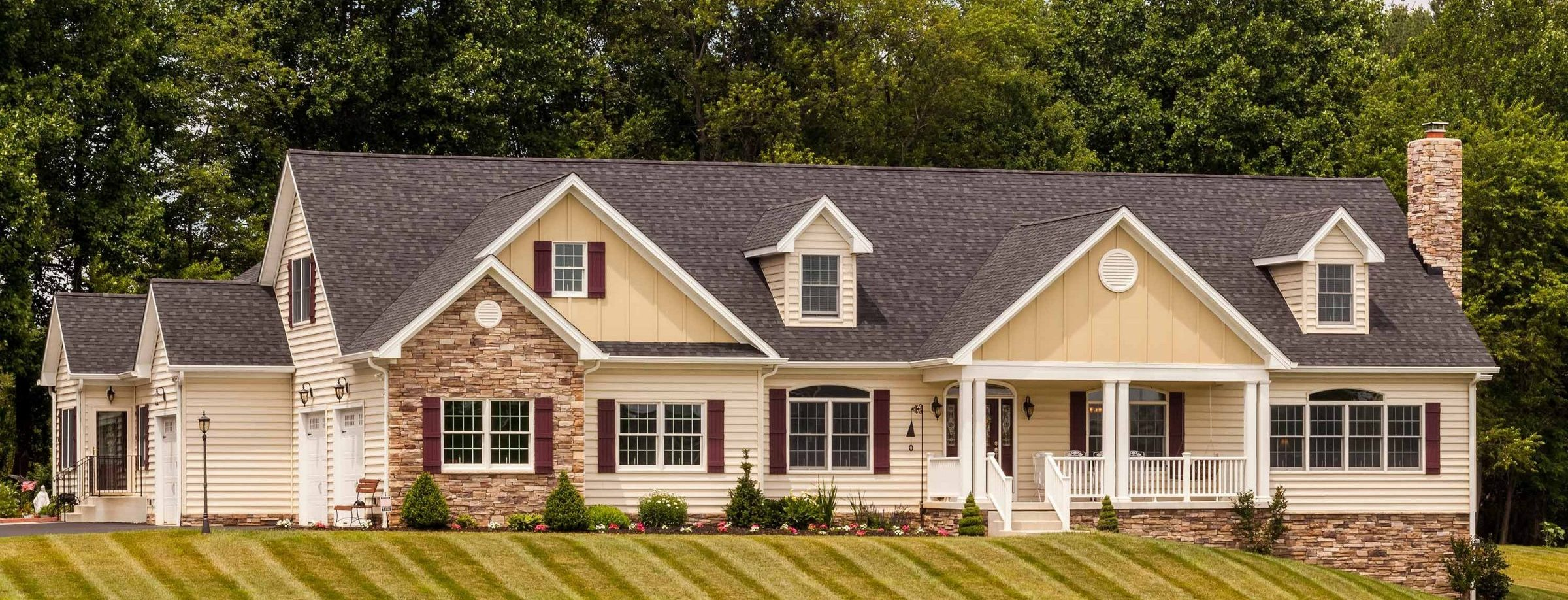Custom Built Home with In law Suite by Owings Brothers Contracting