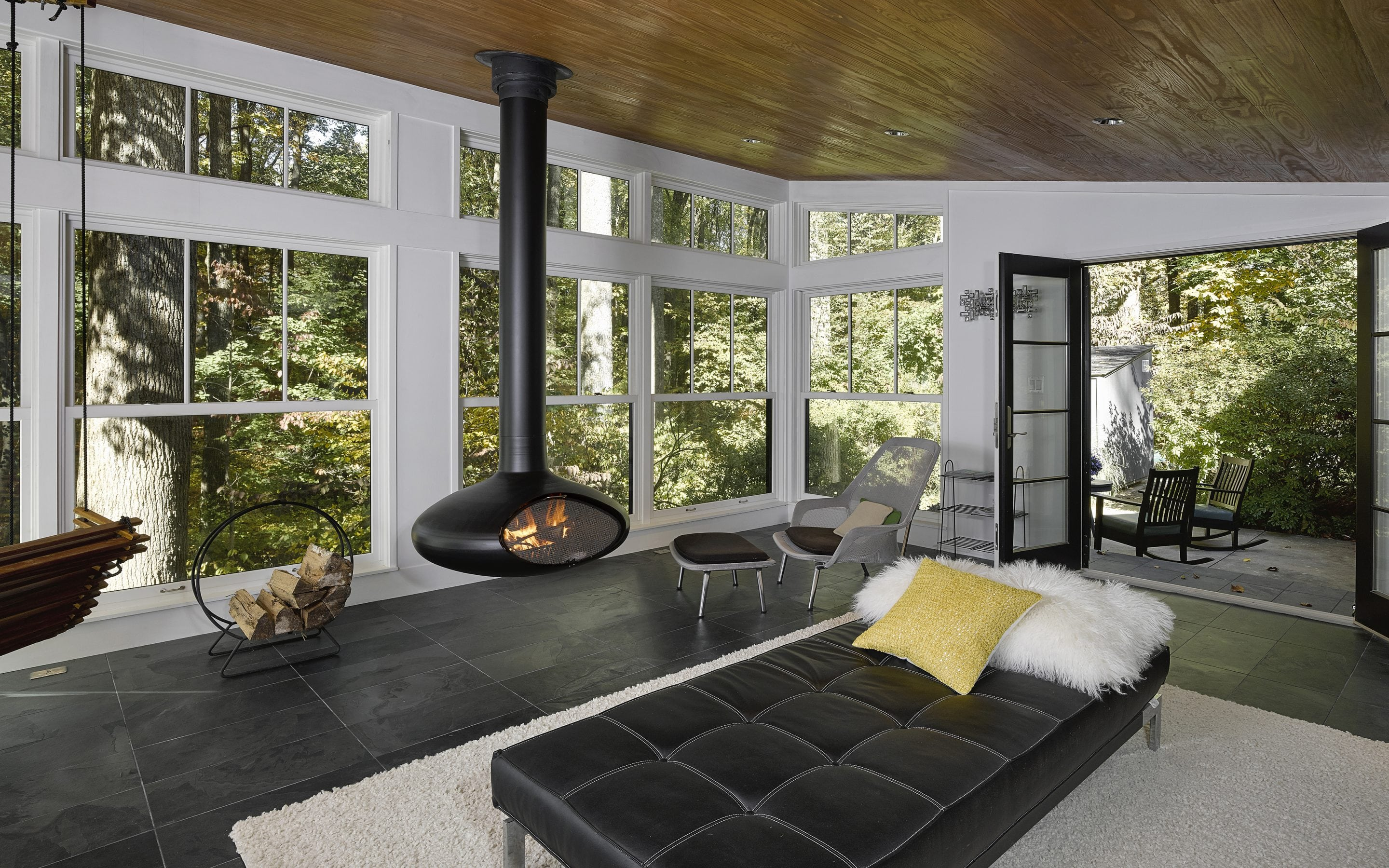 contemporary home remodel sunroom by owings brothers contracting