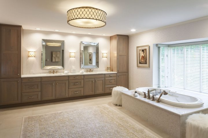 Luxurious Master Bath Remodel by Owings Brothers Contracting