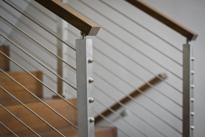 Cable Railing vs  Wood Railing | Owings Brothers Contracting