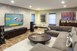 basement remodel, industrial style