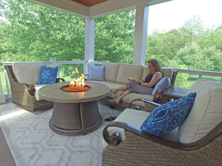 fireplaces on screened porches, owings brothers contracting